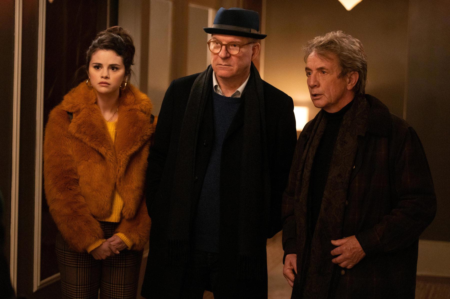 Từ trái qua: Selena Gomez, Steve Martin, Martin Short cùng hợp tác điều tra vụ án bí ẩn trong chung cư