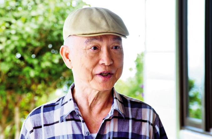 Phạm Hồng Hiên đóng vai phụ trong phim Năm tháng hoàng kim của Đài Loan, ra mắt hồi tháng 7. Ông năm nay 75 tuổi. Ảnh: LNT
