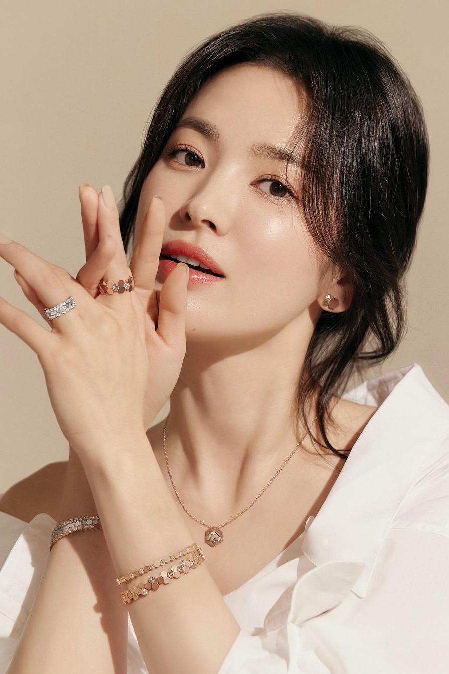 Nhan sắc Song Hye Kyo ở tuổi 40.