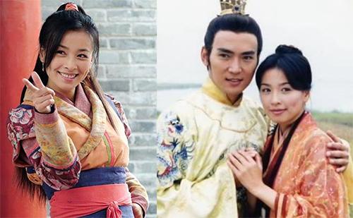 Trương Đình lưu dấu ấn với phim Trộm long tráo phụng (2000), đóng cùng Tiêu Ân Tuấn. Ảnh: Appledaily