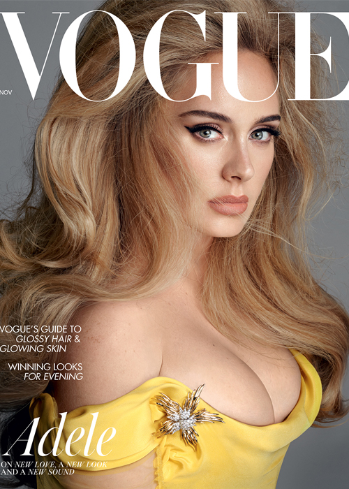 Adele trên tạp chí Vogue số tháng 11. Ảnh: Vogue
