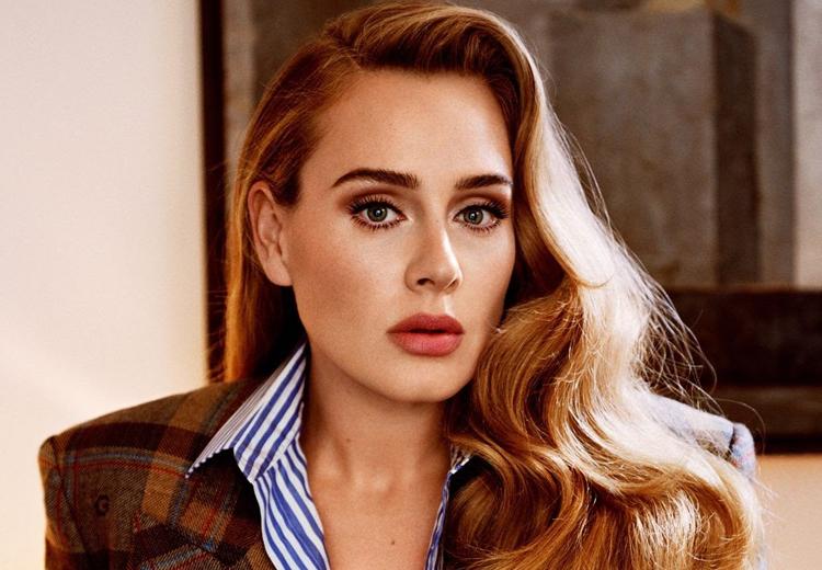 Ngoại hình Adele khi tái xuất sau sáu năm. Ảnh: Instagram Adele